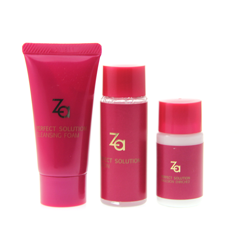 Free shipping za/ji rui counter in kind za core muscles key three sets cleansing cream + lotion + lotion in kind