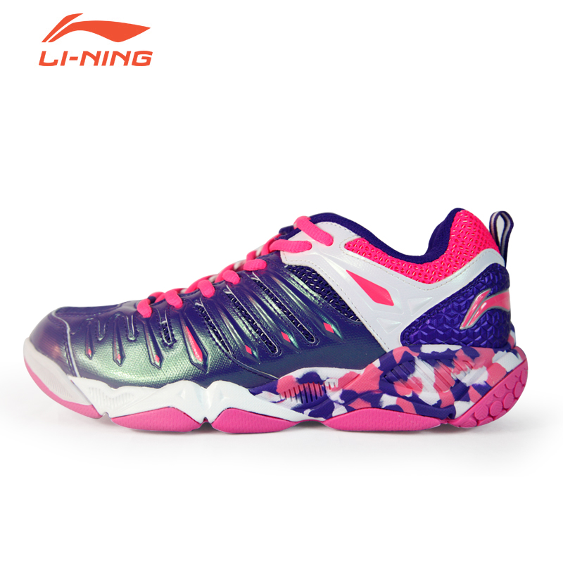 [Free to try] genuine lining li ning badminton shoes badminton shoes female models wear and comfortable shoes
