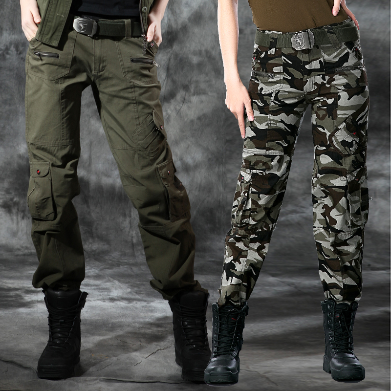 Freedom rider army uniforms waist trousers slim straight women's casual pants women's trousers tooling