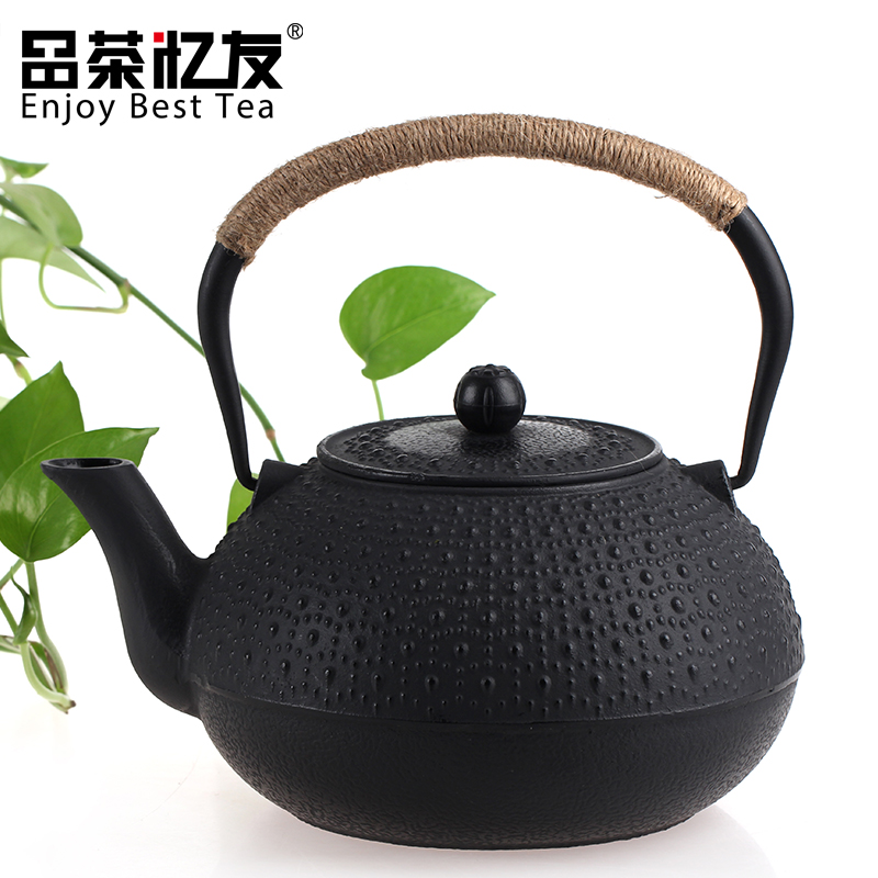 Friends recalled tea rain large cast iron pot iron kettle southern japan iron kettle old iron pot cast iron teapot 1.8l shipping