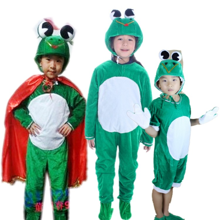 Get Quotations · Frog prince children insect animal cartoon show clothing textbook plays stage costumes kindergarten fun games  sc 1 st  Shopping Guide - Alibaba & China Kids Frog Costumes China Kids Frog Costumes Shopping Guide at ...