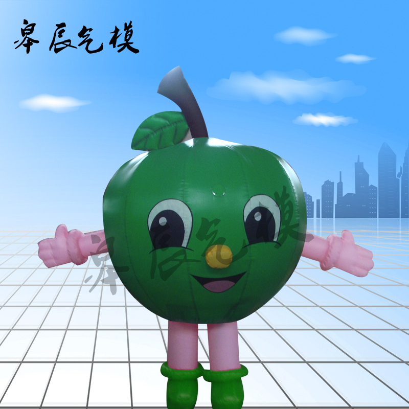 Fruits and vegetables watermelon fruit apple inflatables inflatable cartoon inflatable inflatable model inflatable cartoon dolls