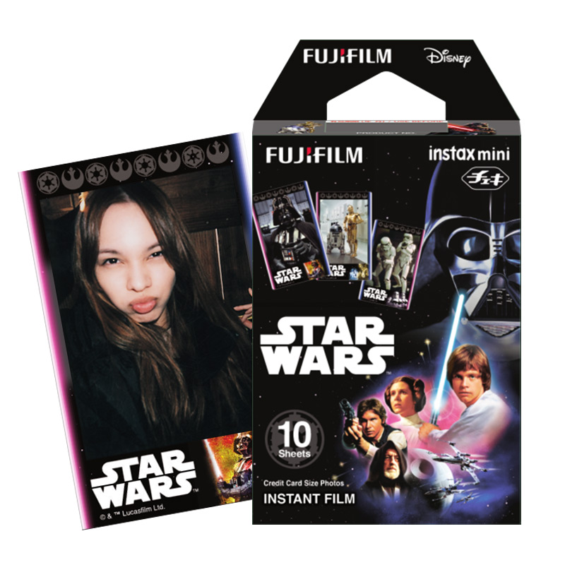 Fuji polaroid mini7s 8 25 90 polaroid photo paper stand new disney star wars film