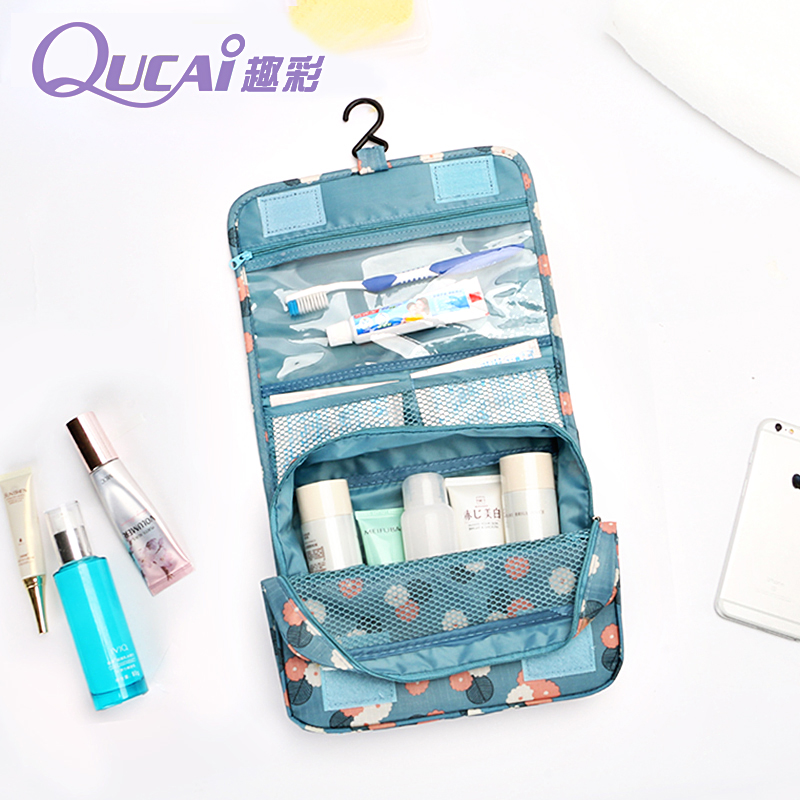 Fun color korean ms. clutch cosmetic bag cosmetic bag large capacity storage bag portable waterproof travel wash bag wash bag