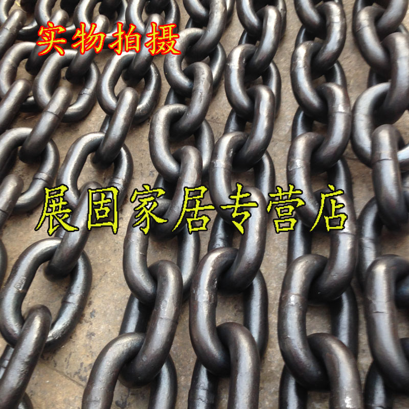 G80 lifting chain/chain of high strength/t8 level chain/chain hoists/manganese steel chain 20mm