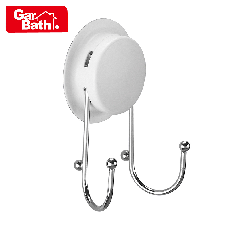 [Garbo] strong suction cup hook towel hanging/stainless steel vacuum sucker sucker bathroom hook trace debris hanging