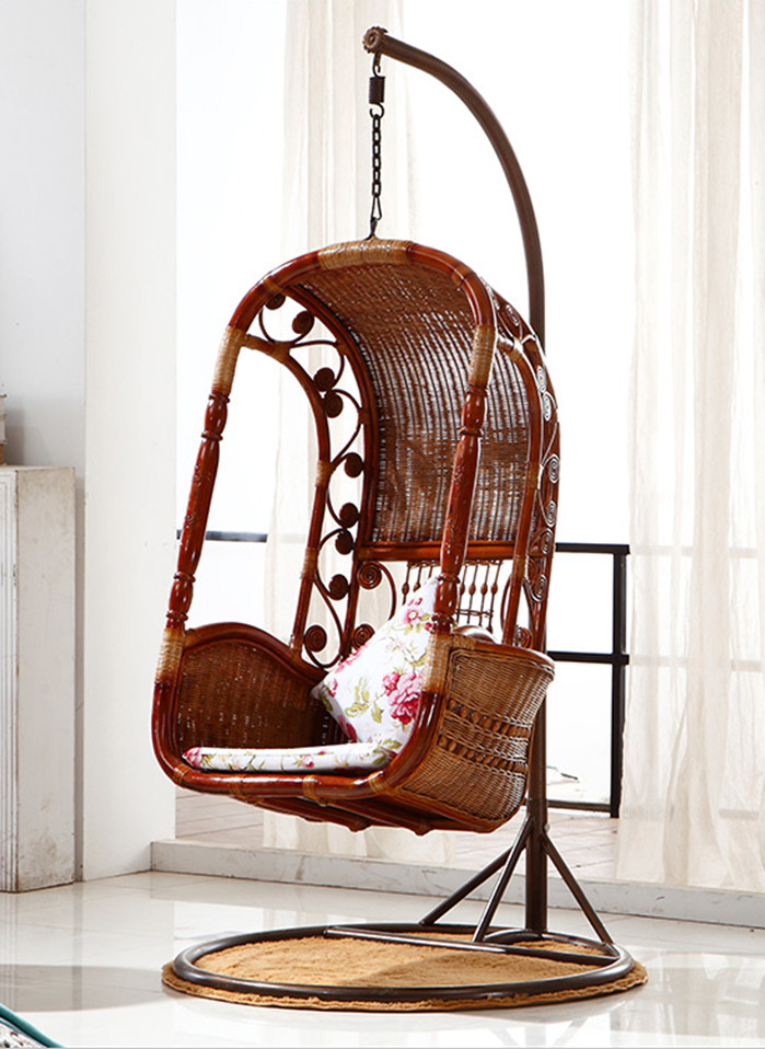 Get Quotations · Gardens Home Wicker Chair Balcony Chair Rattan Swing  Hanging Rattan Chair Rattan Chair Rattan Hanging Blue