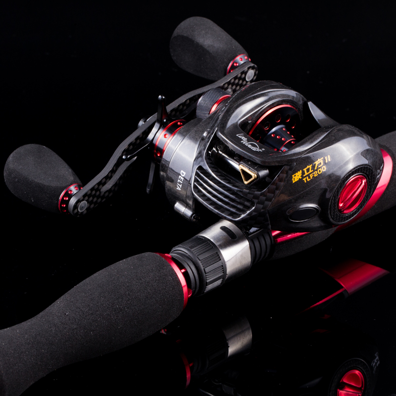 Garnett fishing vessel carbon cubic TLF200 ii generation of an upgraded version of the right hand carbon road sub round water droplets round fishing rod round