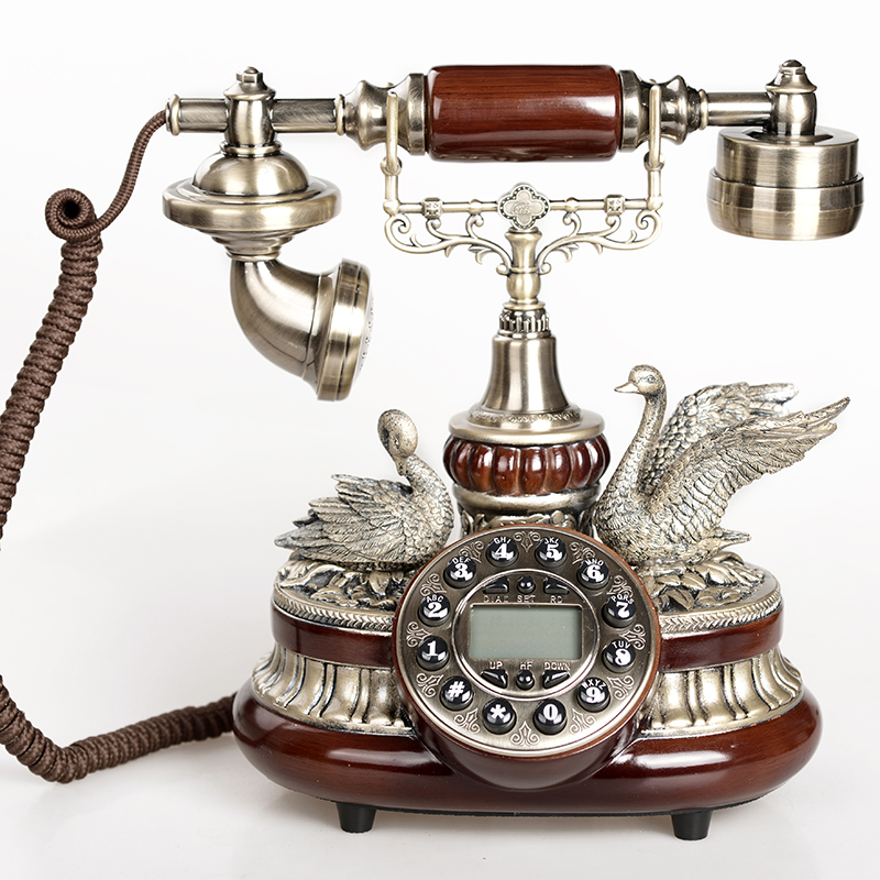 Gdids european pastoral antique telephones retro fashion creative home decoration ancient code vintage telephones