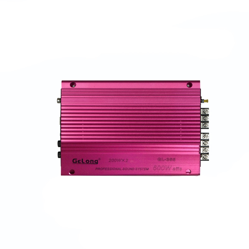 Gelong song long 2 two road road car amplifier car audio conversion amplifier installation lossless