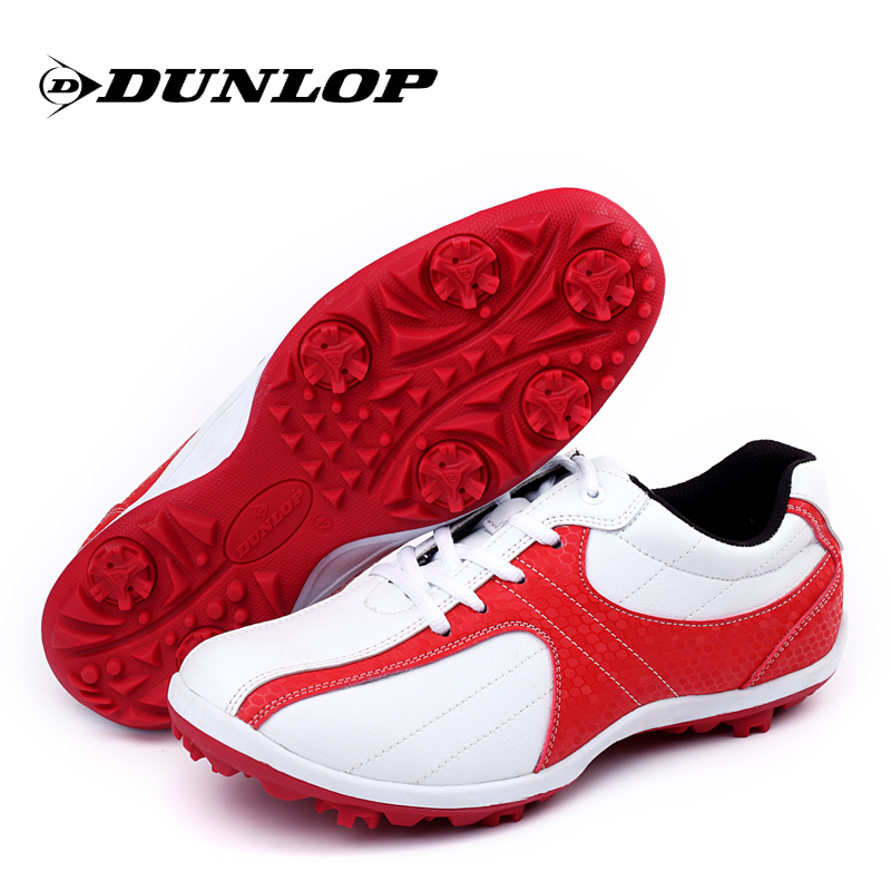 Genuine dunlop/dunlop golf shoes waterproof golf shoes men casual shoes sneakers slip