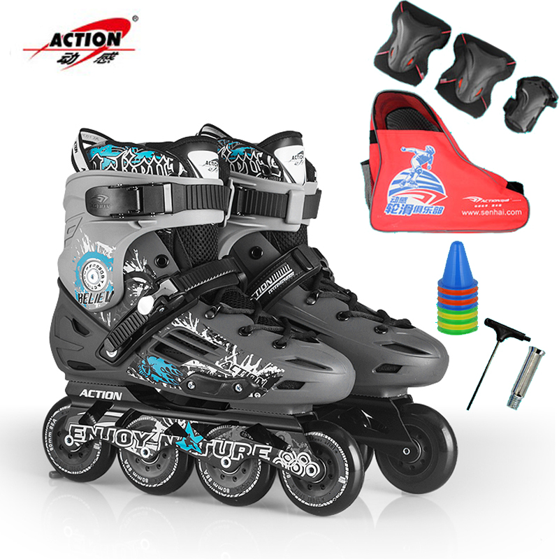 Genuine dynamic inline skates adult men and women skate skates roller skates adult roller skates professional slalom