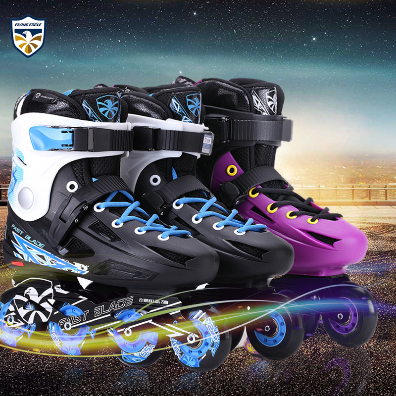 Genuine eagle fb professional adult skates roller skates adult level hua xie skate skates roller skates skating for men and women