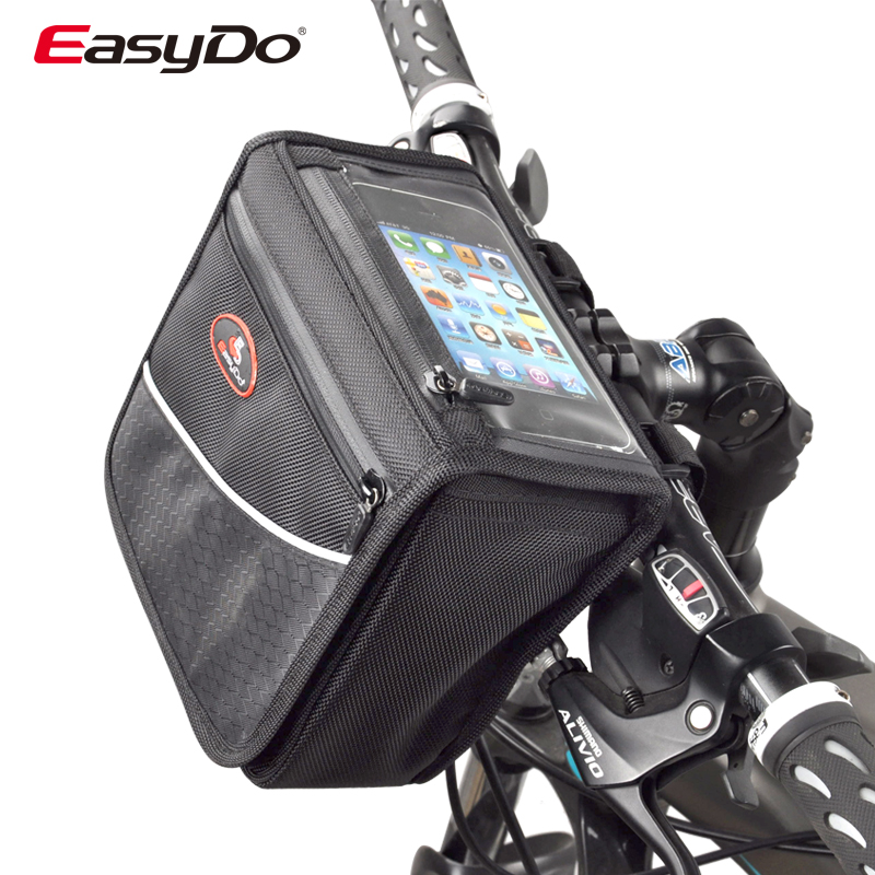 Genuine easydo bike package before chartered handlebar bag touch gps car first bag cell phone pocket car front pack