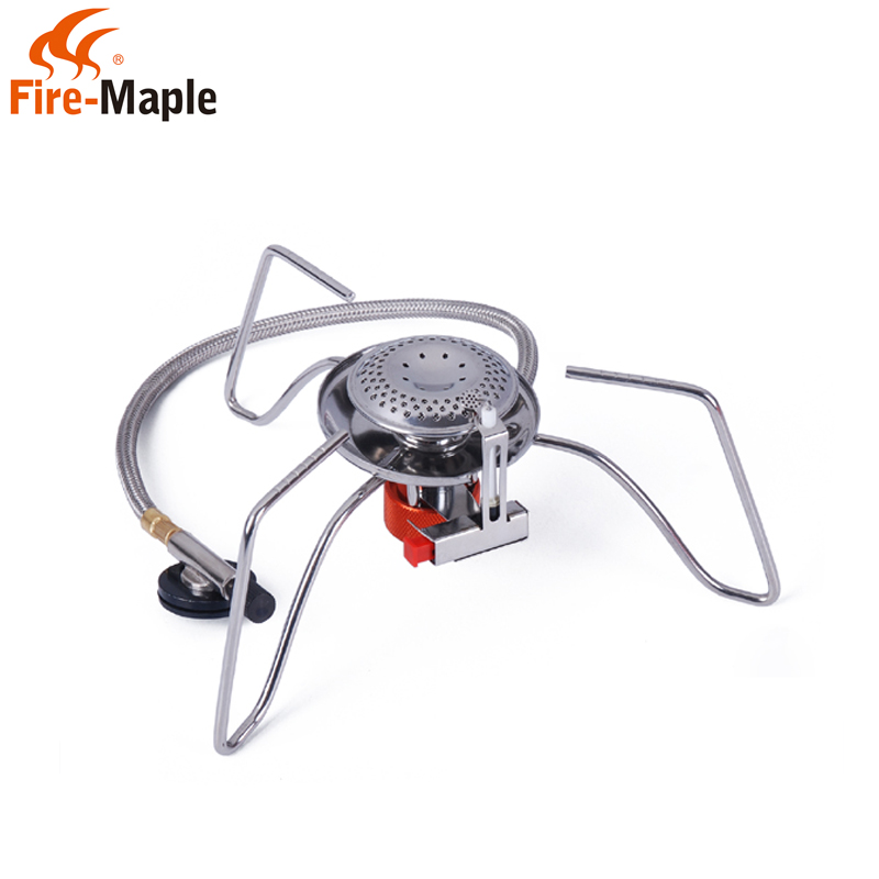 Genuine fire maple fms-104 split electronic ignition gas stove outdoor camping picnic stove burner stoves