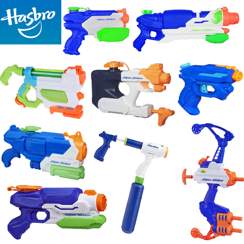 Get Quotations · Genuine hasbro nerf heat gun withdrawing children electric  squirt water dragon playing with a water toys