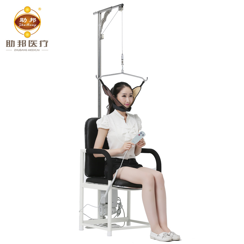 Genuine home cervical traction medical treatment instrument shipping help state electric traction chair correct neck traction bed