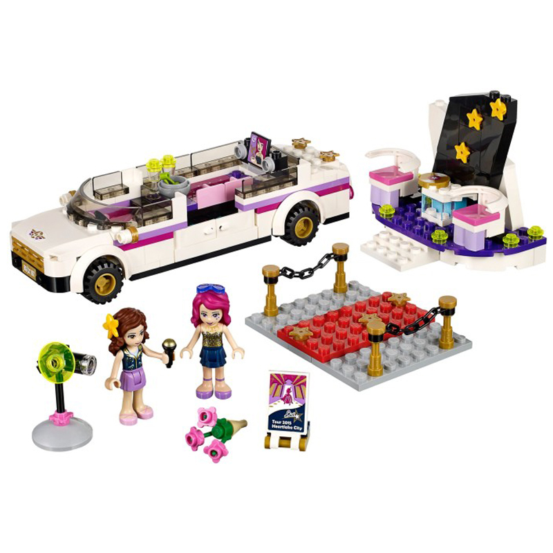 Genuine lego/lego building blocks assembled children's educational toy girl series big song star cars 41107