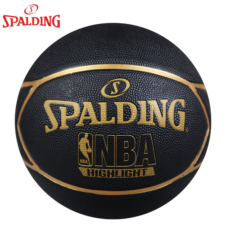 Genuine spalding nba basketball series of indoor and outdoor common wear and slip rubber basketball on 7 83-194Y