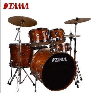 Genuine tama rl52kh6 drums rhythm partner with new paint wugu wugu three cymbal cymbal