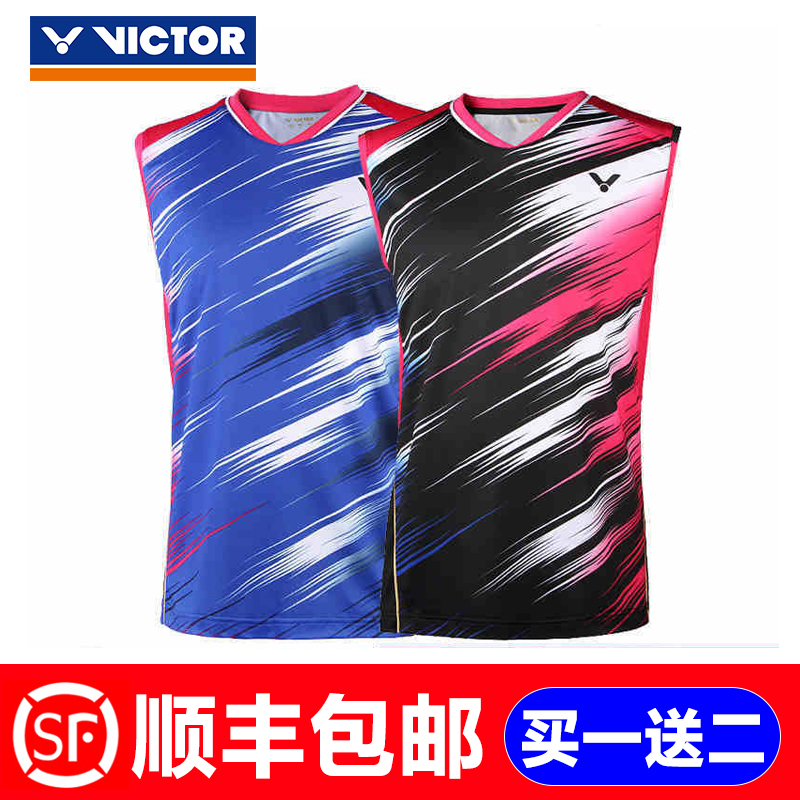 Genuine victory victor badminton clothing for male and female badminton shorts 2016 new korean sleeveless dress contest