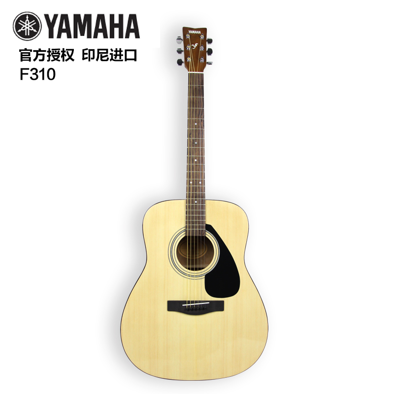 Genuine yamaha yamaha f310 acoustic guitar folk guitar beginner guitar 41 electric box guitar acoustic guitar spruce