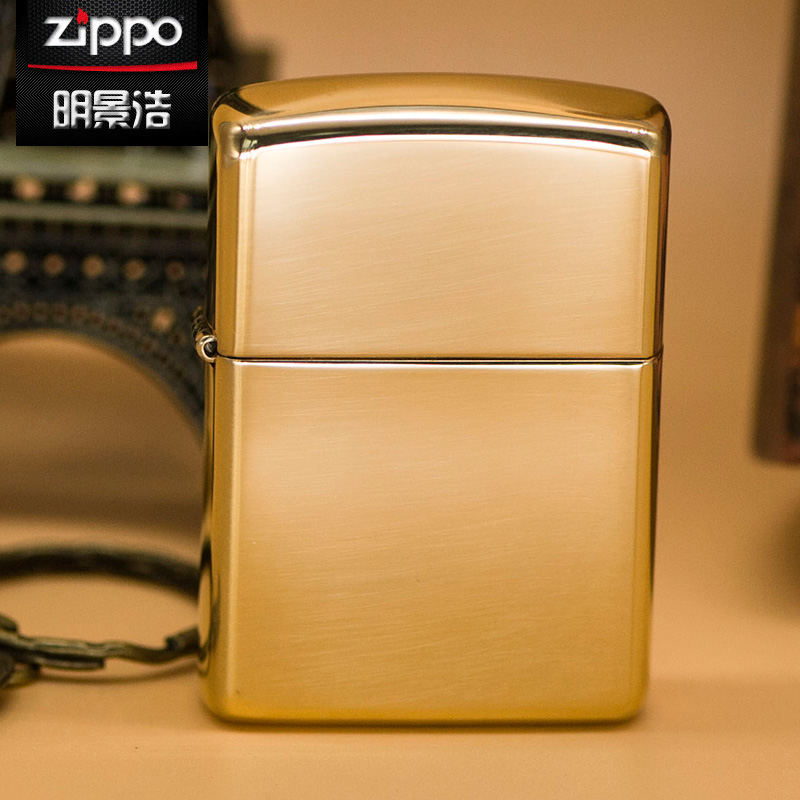 Genuine zippo windproof lighter armor mirror us counter genuine original 169 copper custom gift