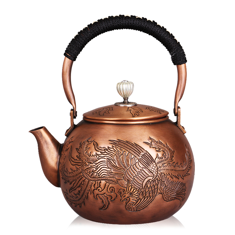 German church hill thick pure copper handmade copper kettle copper kettle copper kettle tea kettle teapot kung fu tea kettle teapot