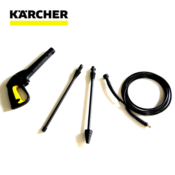 Germany karcher k2.21 pressure washer accessories package 3 m high pressure tube unidirectional rotating nozzle water gun grips