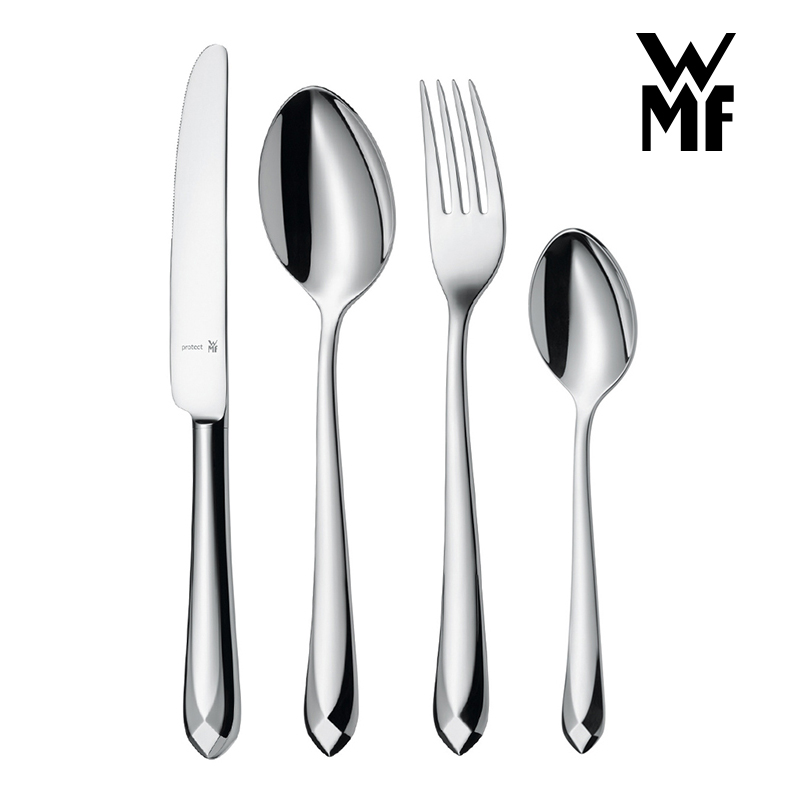 Germany wmf fu teng bao jette series 4 sets of portable tableware stainless steel spoon western knife and fork