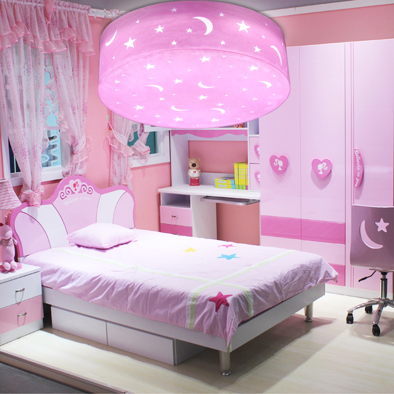 Get Quotations S Pink Princess Room Lamp Children Bedroom Eye Led Dimming Lights Ceiling