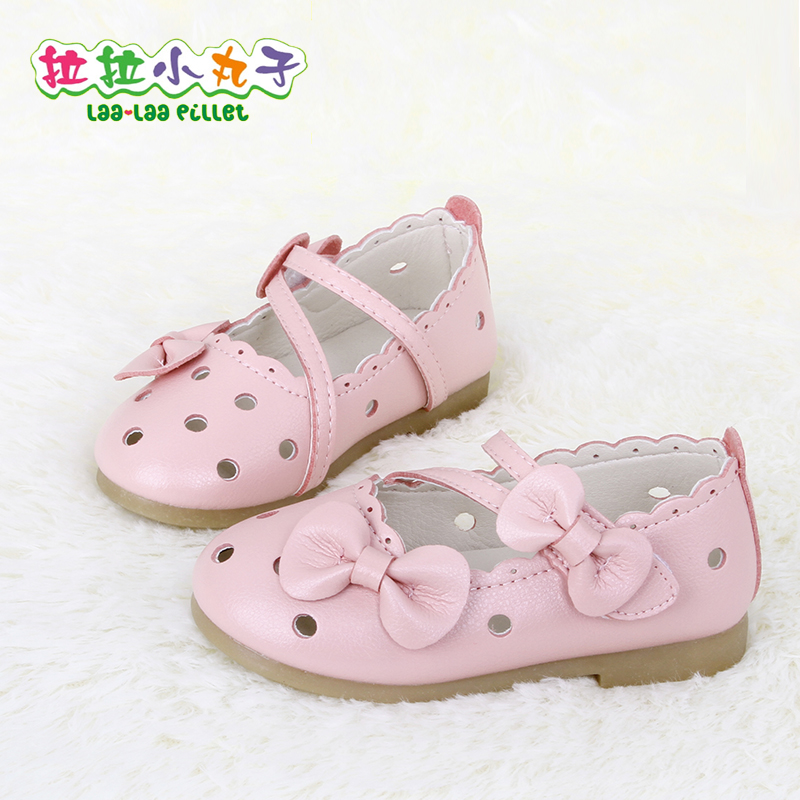 Girls spring and summer new korean female baby princess shoes shoes shoes 2016 years old lou empty sandals tide shoes