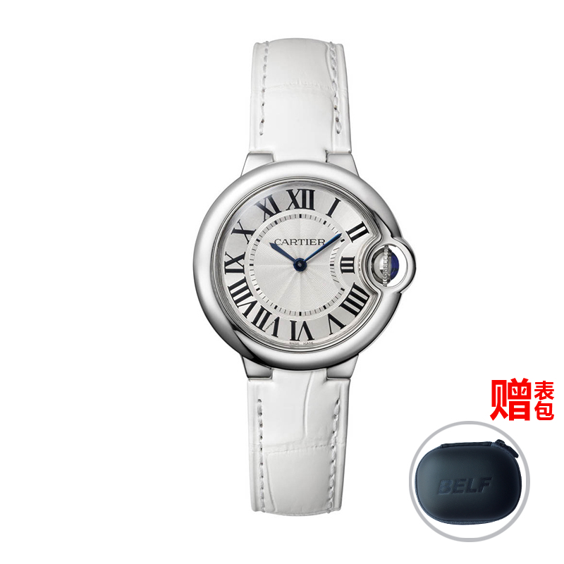 Global unpas cartier watches cartier blue balloon series quartz female watch w6920086
