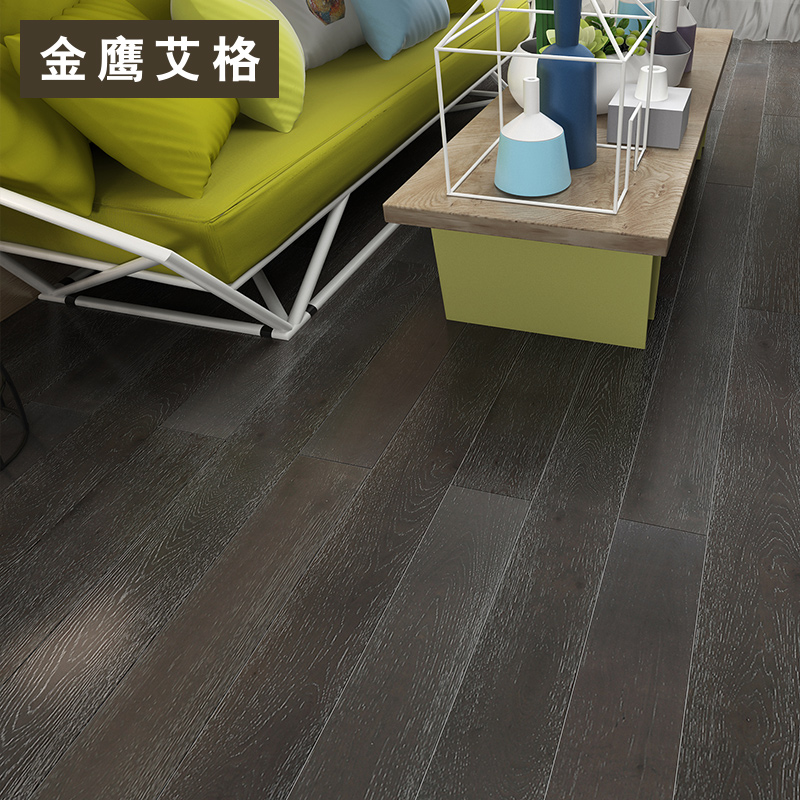 Golden eagle iger three layers of solid wood flooring oak wood flooring laminate flooring laminate flooring e0 class environmental ds005
