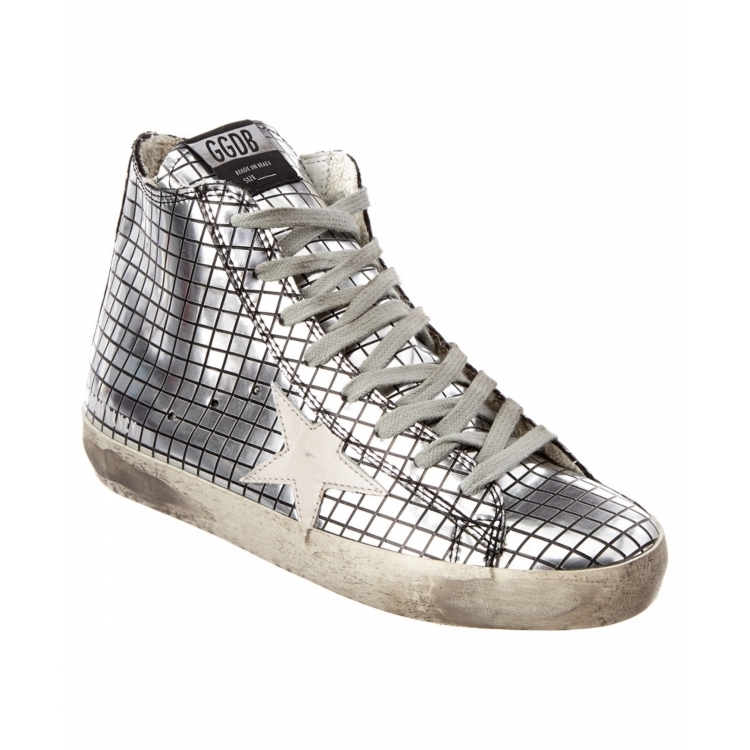 Golden goose women's shoes soled shoes Q02083217 metallic