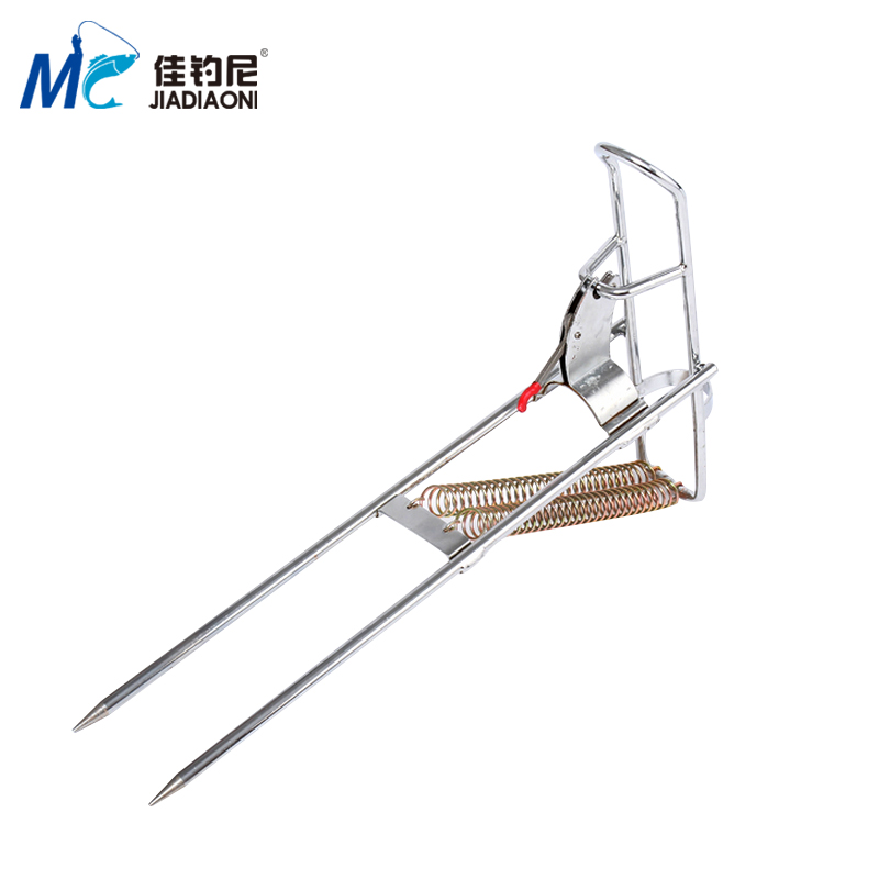 Good fishing nepal automatic bomb throwing pole bracket sea pole pole bracket spring bracket bracket bracket jumper from the pole