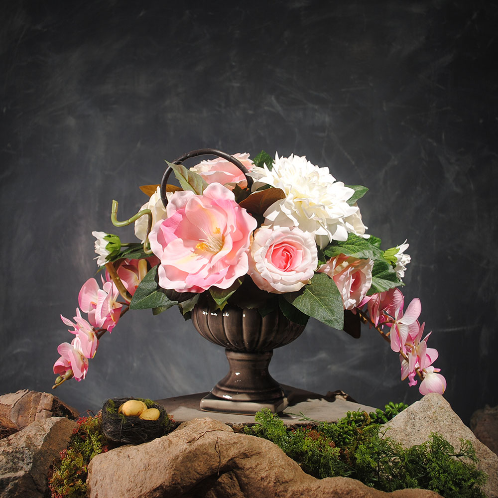 China silk dahlia flowers china silk dahlia flowers shopping guide get quotations good luck dahlia magnolia chinese floral phalaenopsis artificial flowers artificial flowers decorative floral suit silk flower mightylinksfo