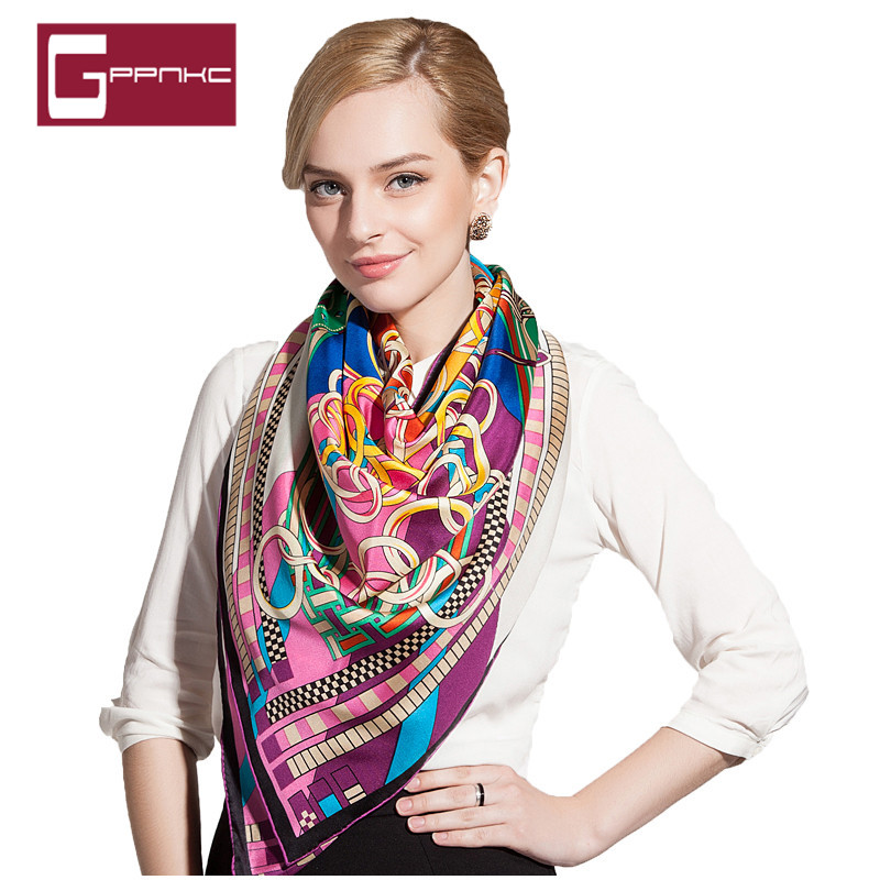 Gppnkc custom 2016 new spring and summer sunscreen silk scarf large square silk ladies fashion lovers around the towel