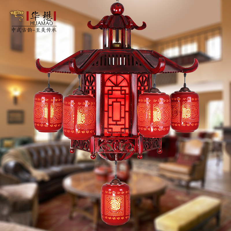 China murano chandelier red china murano chandelier red shopping get quotations grade wood carved ceramic chinese red chinese chandelier chandelier chandelier living room restaurant hotel villa chandelier aloadofball Choice Image