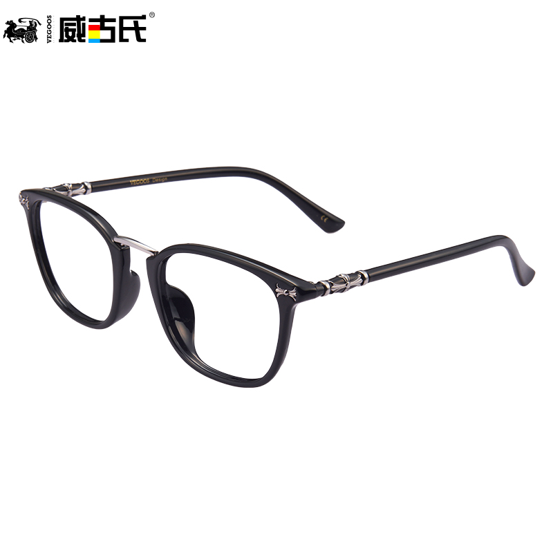 Granville gooch myopia glasses frame plate retro glasses frame big face lightweight full frame glasses frame myopia female models 5087