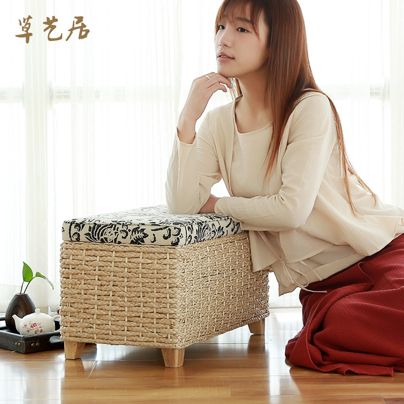 Grass arts habitat free installation of wood small sofa stool stool storage stool changing his shoes fashion matali crasset bedroom stool stool test A pair of shoes