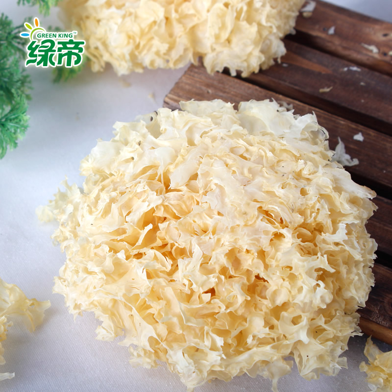 Green emperor fungus white fungus furuta specialty dry goods north and south 175g no sulfur waxy easy to cook and easy
