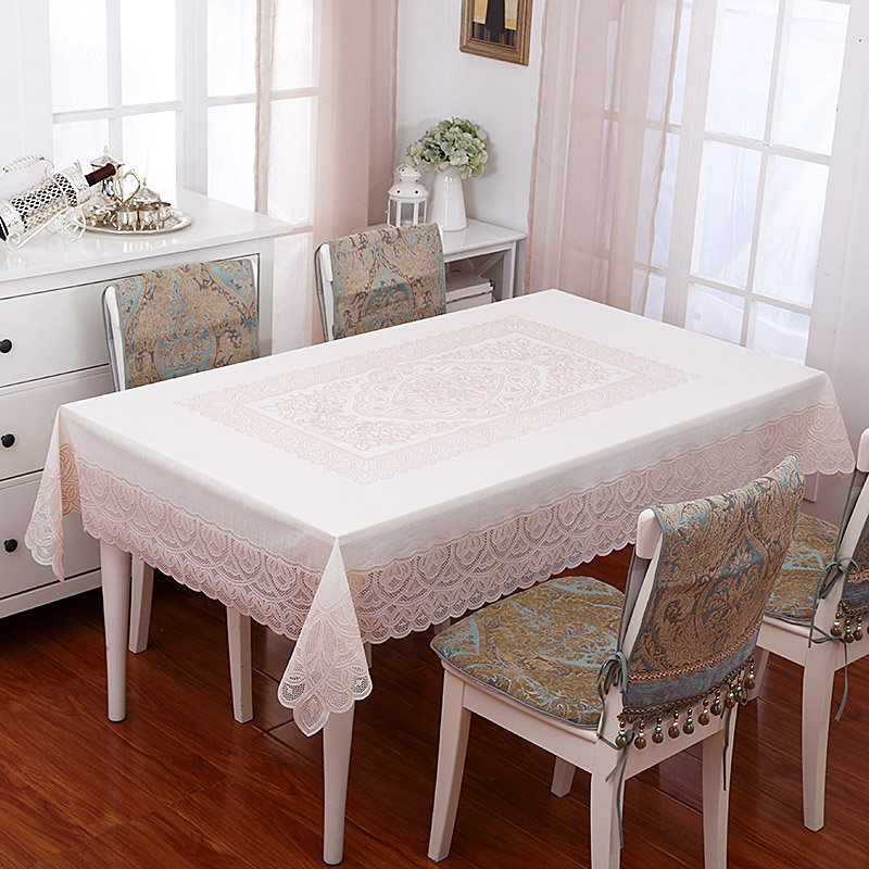 Green pvc lace table cloth table cloth waterproof oil disposable waterproof tablecloth tablecloth hot in europe