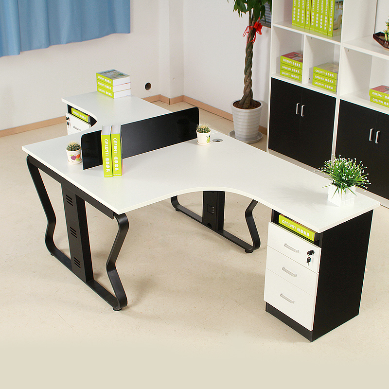 Guangzhou office furniture modern minimalist desk staff desk 2 people off the company level staff office furniture portfolio