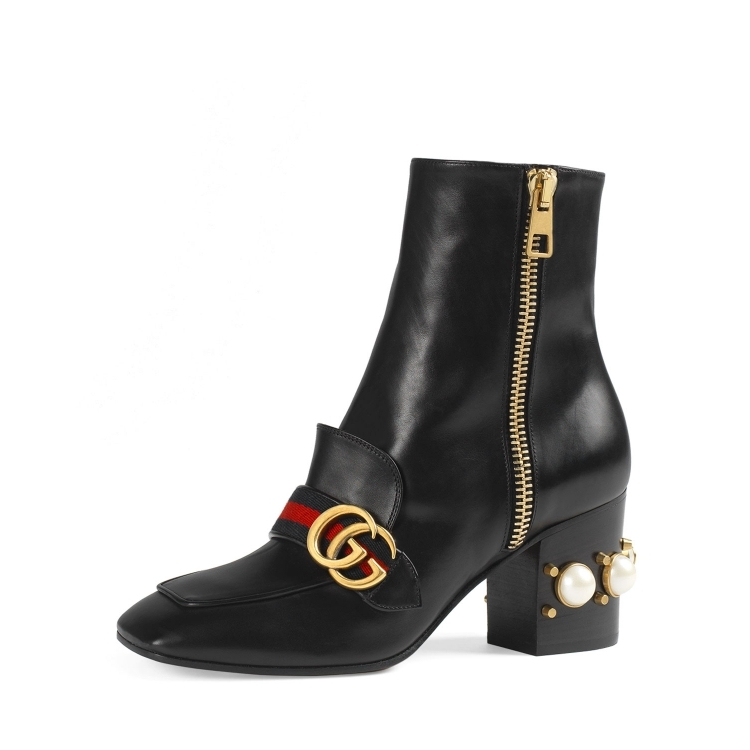 Gucci/gucci/gucci boots women ankle boots Q02002487 black