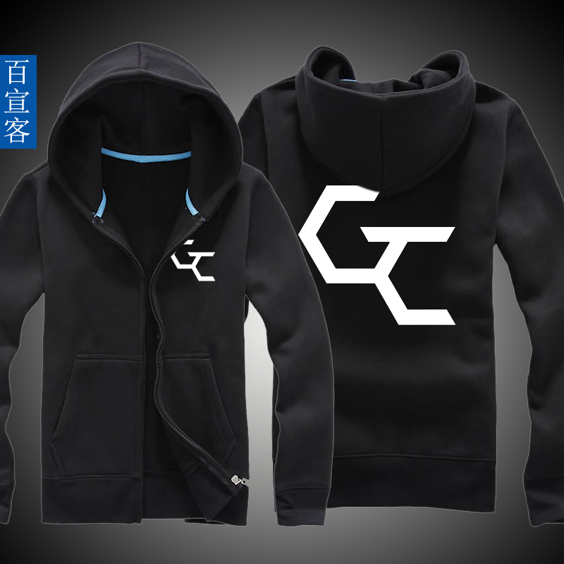 Guilty crown anime surrounding clothes coat spring and autumn thin section adolescent boys hooded sweater printing