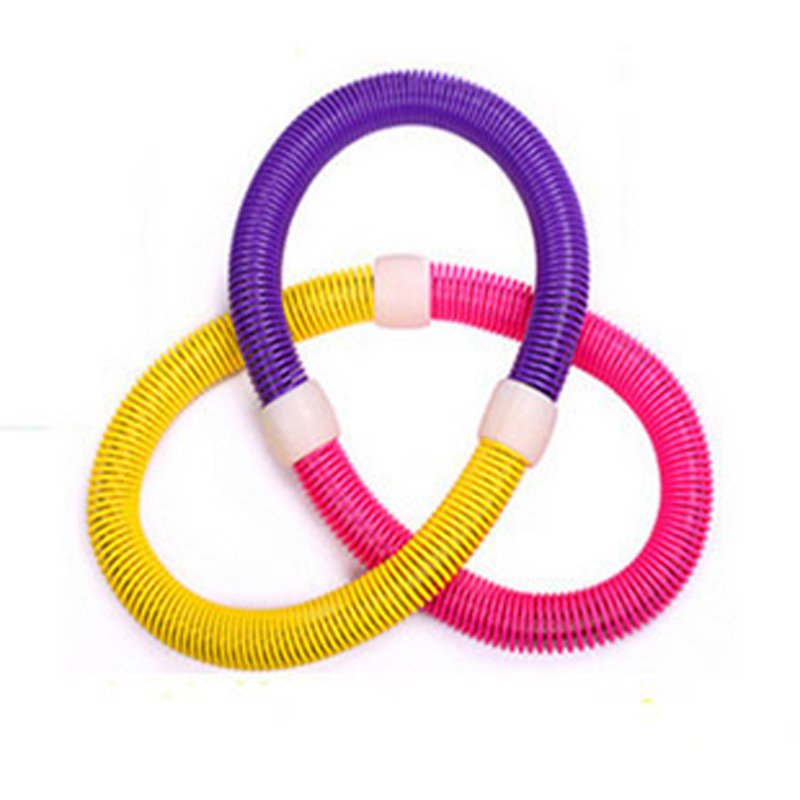 Guinness league children adult female soft spring hula hoop hula hoop hula hoop fitness hula hoop thin waist and abdomen removable