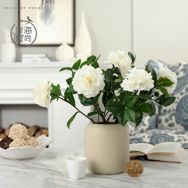 H house is still floating sea floor floral home decor artificial flowers silk flower artificial flowers decorative flowers simulation camellia