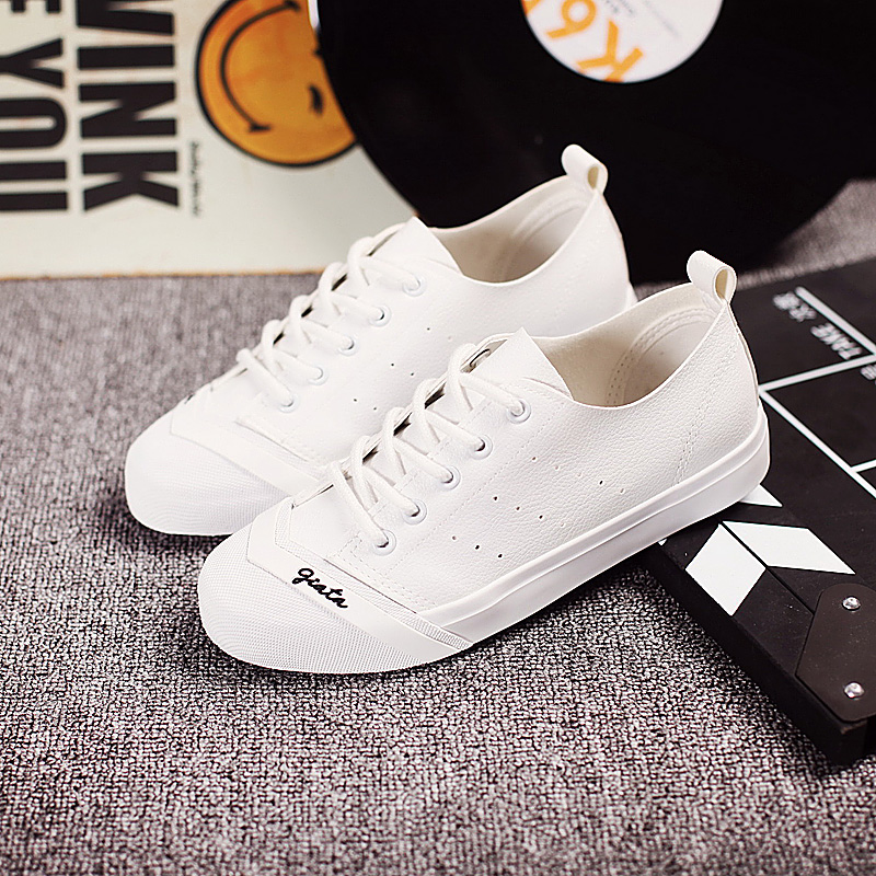 Ha sin 2016 autumn korean version of the new white shoes leather shoes fashion shoes flat shoes casual shoes student shoes
