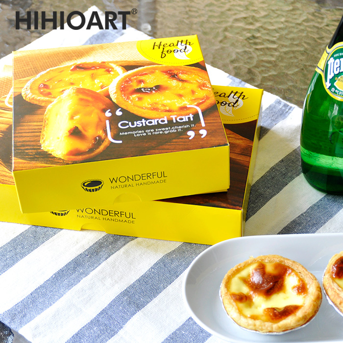 Hai hui waterford baking food packaging box 4 tarts portuguese egg chi heart 6 100ç²malabon carton yolk crisp Son 50